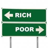 Rich and Poor in the US economy