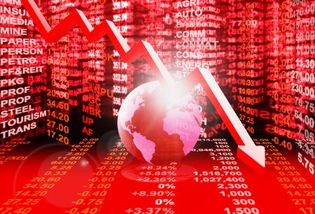45837877 - stock market concept , stock market crisis