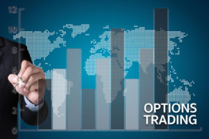 65328631 - options trading investment in option trade of trader business concept