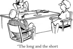 """The long and the short is we went long and got shorted."""