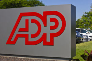 Indianapolis - Circa 2016: ADP Location. ADP is a Provider of Business Outsourcing Services I