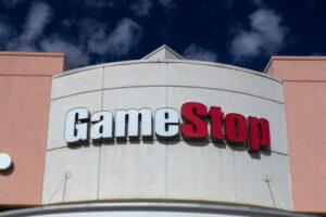 PASADENA, CA/USA - OCTOBER 25, 2014: GameStop retail store exterior. GameStop Corporation is an American video game, consumer electronics, and wireless services retailer.