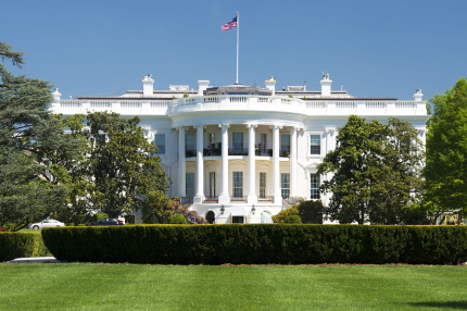 The White House, home of the president of the United States of America