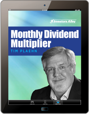 Monthly Dividend Multiplier iPad