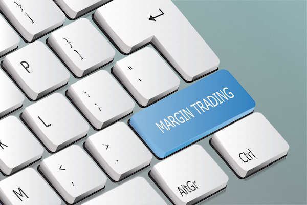 What is margin trading: MARGIN TRADING button in a keyboard