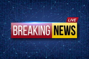 Creative vector illustration of world live breaking news. TV channel show broadcast art design. Business, technology background. Abstract concept graphic element.