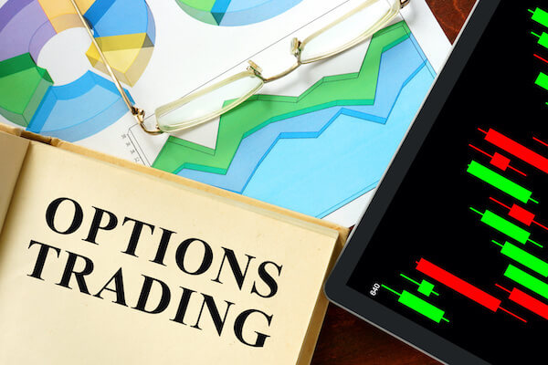 options trading and glasses