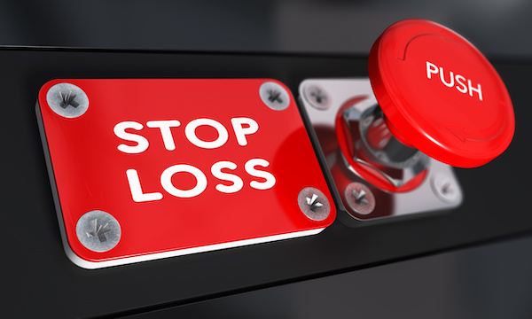 Stop loss order button
